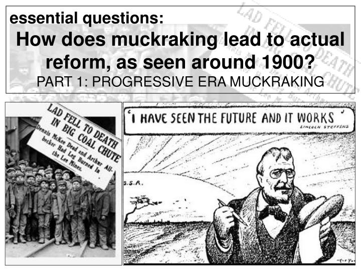 a history of muckraking in journalism Muckraking is a book of collected newpaper article (and a few radio transcripts) that show the development of exposing wrongful doing in american history.