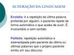 altera o da linguagem1