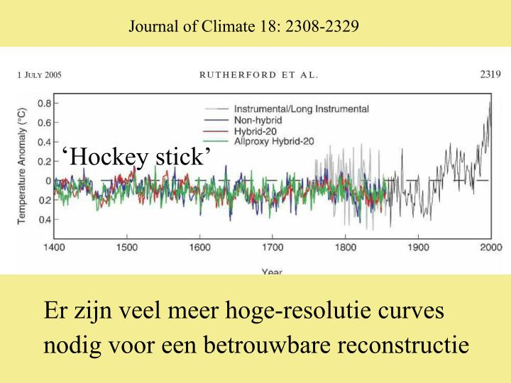 Journal of Climate 18: 2308-2329