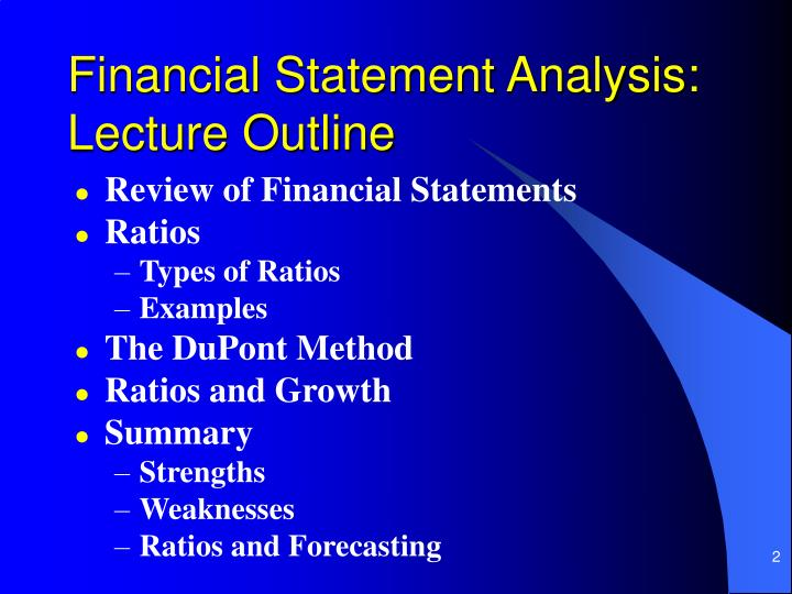 review the financial statements Financial statements are written records that convey the financial activities and conditions of a business or entity and consist of four major components financial statements are meant to present.