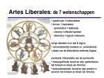 artes liberales de 7 wetenschappen