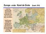 europa onder karel de grote kaart 814