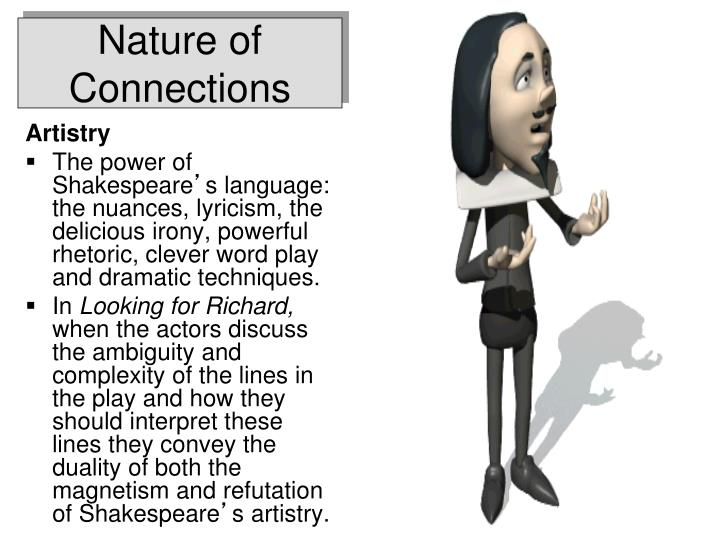 Nature of Connections