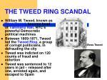 the tweed ring scandal