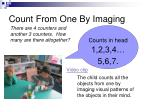 count from one by imaging