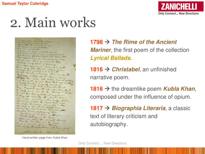 the rime of the ancient mariner literary analysis