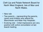 cleft lip and palate network board for north west england isle of man and north wales