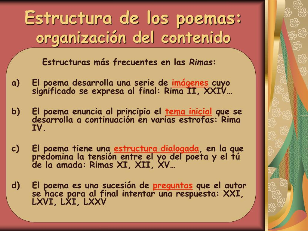 Ppt Las Rimas De G A Bécquer Powerpoint Presentation