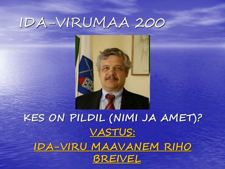 IDA-VIRUMAA 200