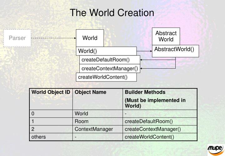 The World Creation