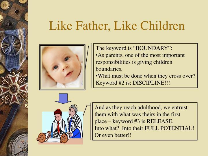 Like father like children2