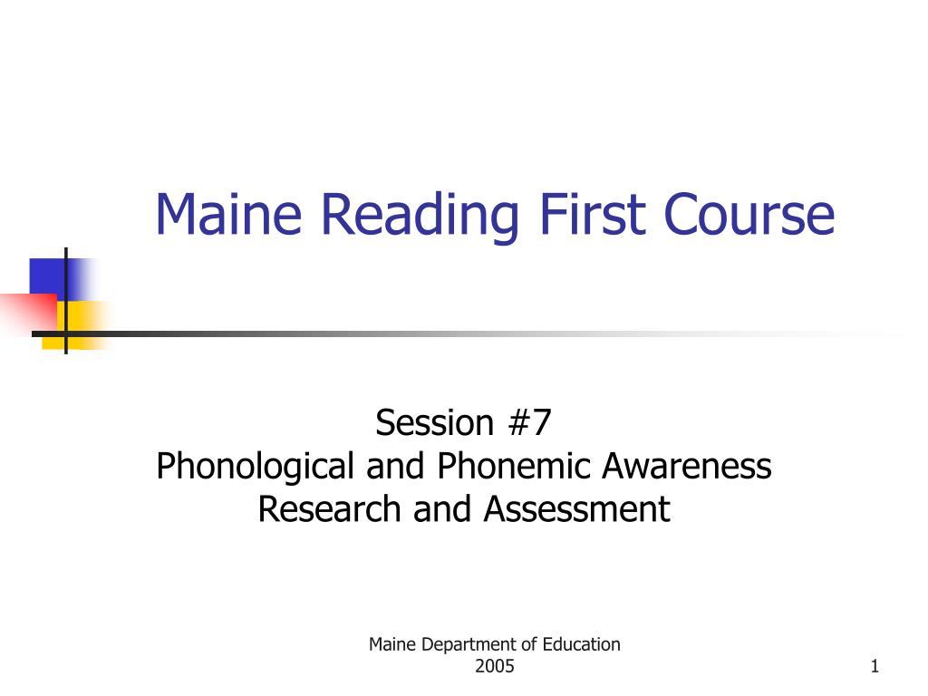 phonological awareness research