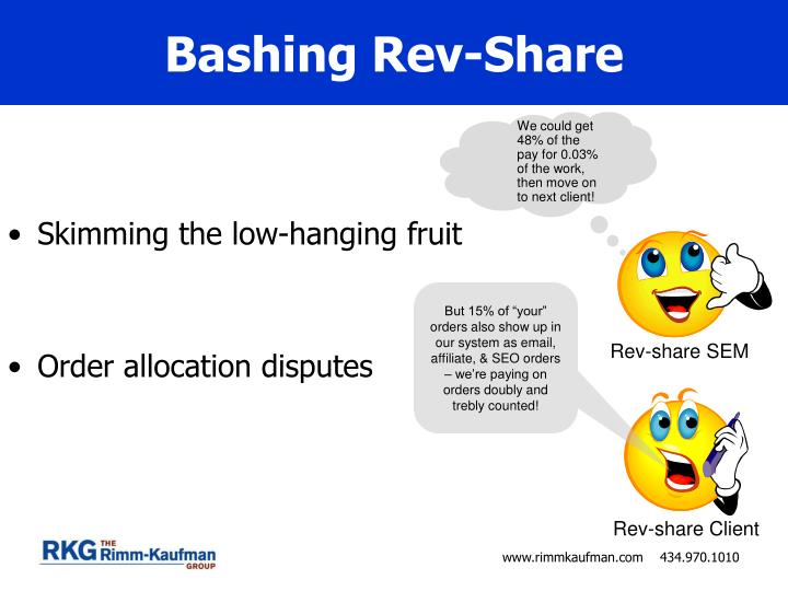 Bashing Rev-Share