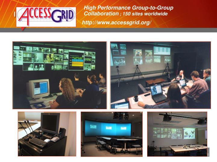 High Performance Group-to-Group Collaboration