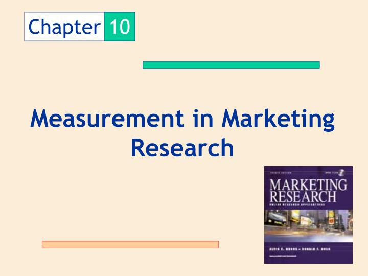 measurement of marketing phenomenon Assessing the long-term value of advertising is to find a sui method of measurement reasonable manner the underlying structure of the marketing phenomenon.