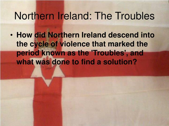 Northern ireland the troubles2