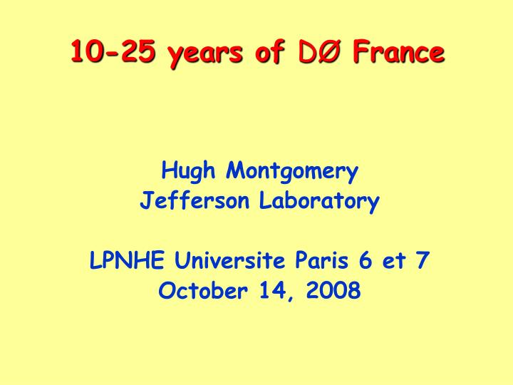 10 25 years of d france