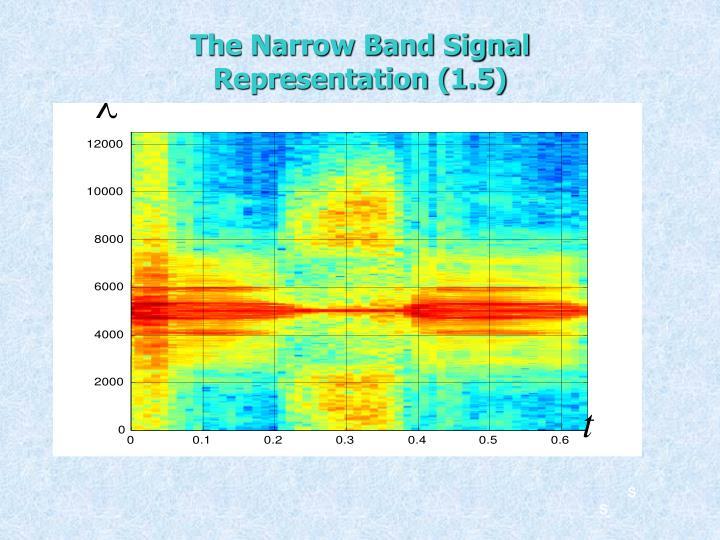 The Narrow Band Signal