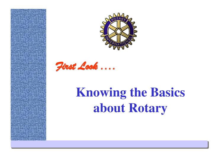 knowing the basics about rotary n.