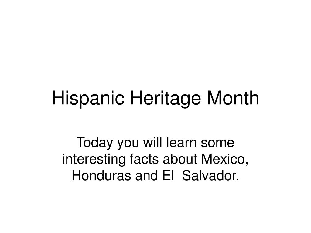 ppt hispanic heritage month powerpoint presentation id 4784112