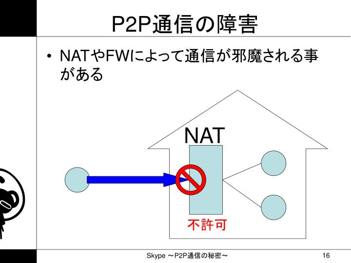 PPT - Skype . ~ P2P 通信の秘...