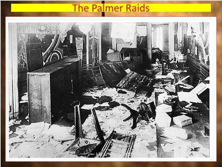 The Palmer Raids