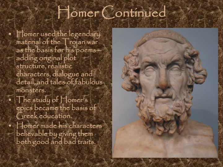Homer Continued