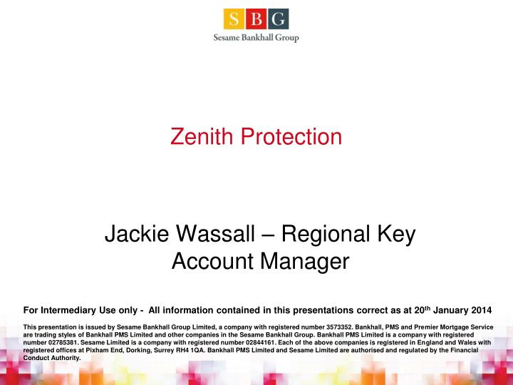 zenith protection n.