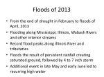 floods of 2013