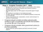 usf and icc reform stage 3