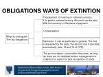 obligations ways of extintion