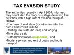 tax evasion study1