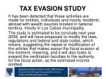 tax evasion study2