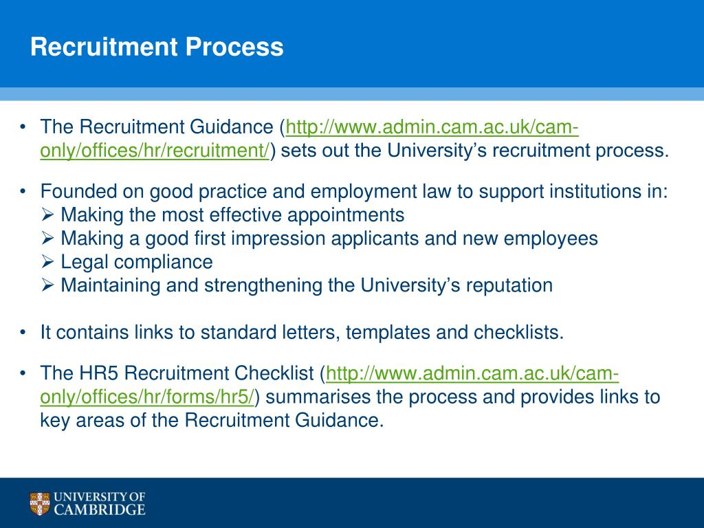 PPT - Recruitment Services and the Recruitment Process