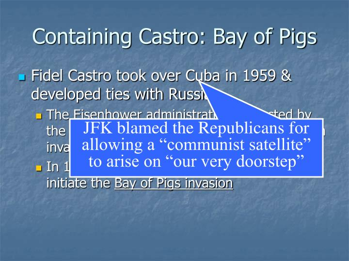 Containing Castro: Bay of Pigs