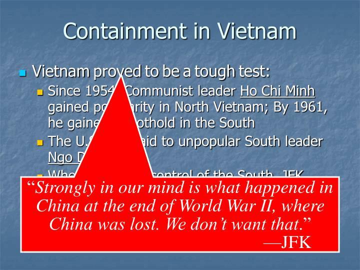 Containment in Vietnam