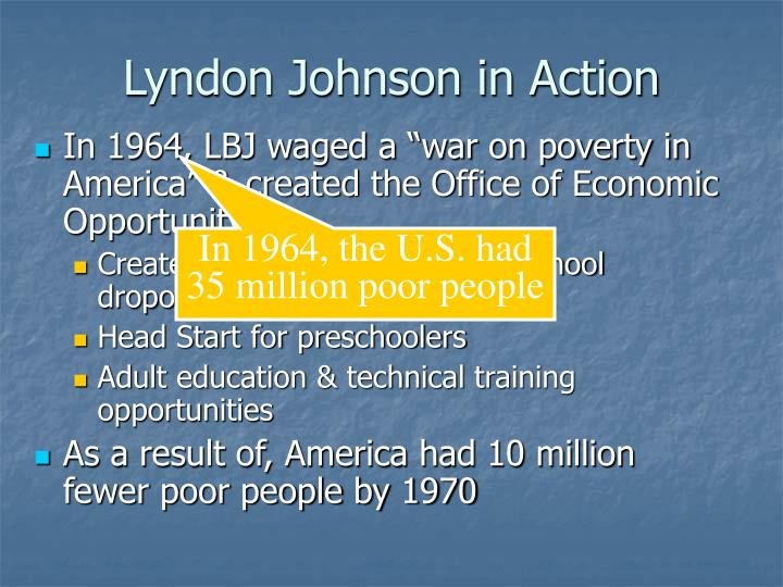 Lyndon Johnson in Action
