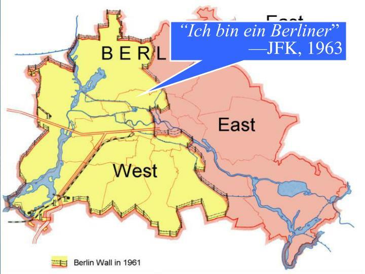 """""""Ich bin ein Berliner"""