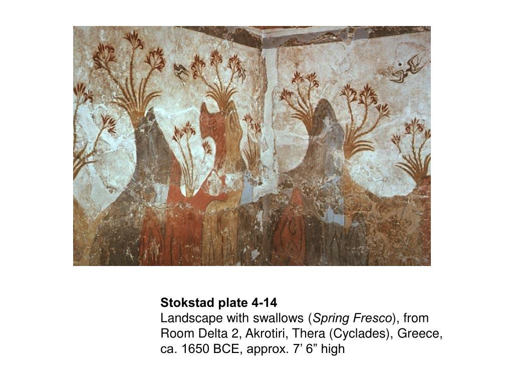 Landscape Spring Fresco