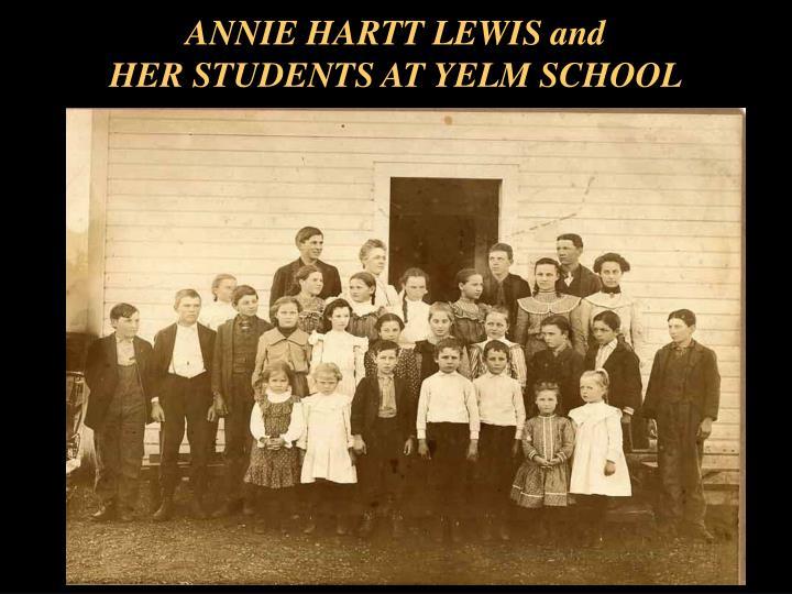 ANNIE HARTT LEWIS and