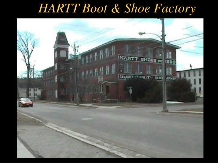 HARTT Boot & Shoe Factory