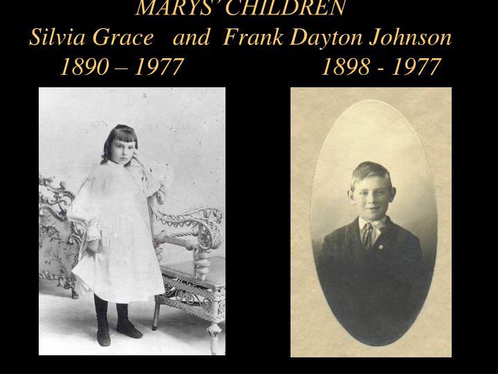 MARYS' CHILDREN