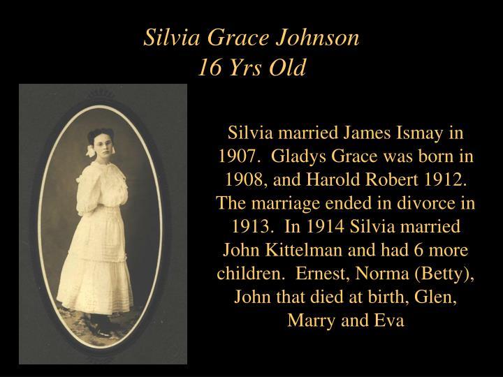 Silvia Grace Johnson