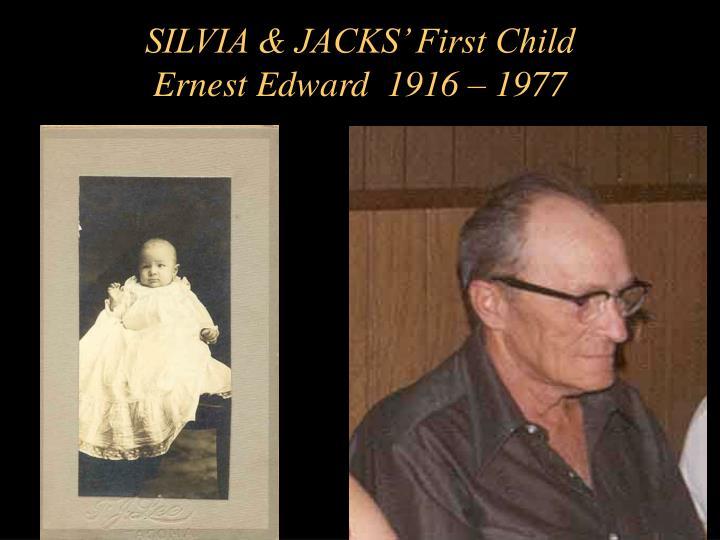 SILVIA & JACKS' First Child