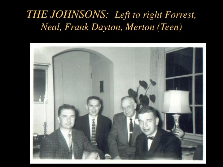 THE JOHNSONS: