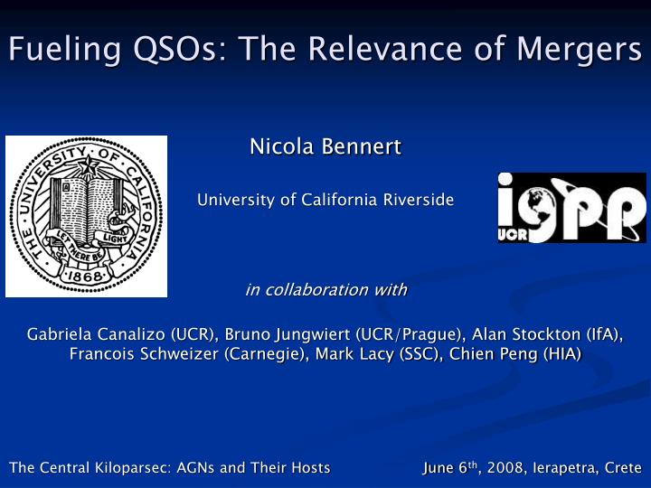 fueling qsos the relevance of mergers