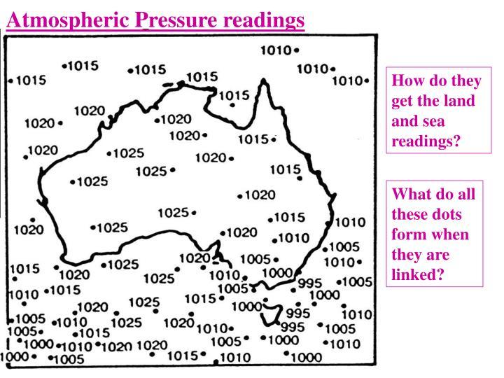 Atmospheric Pressure readings