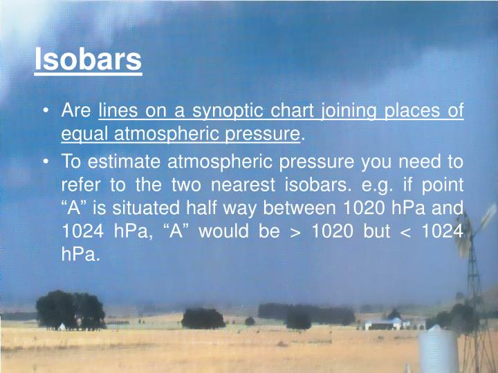Isobars