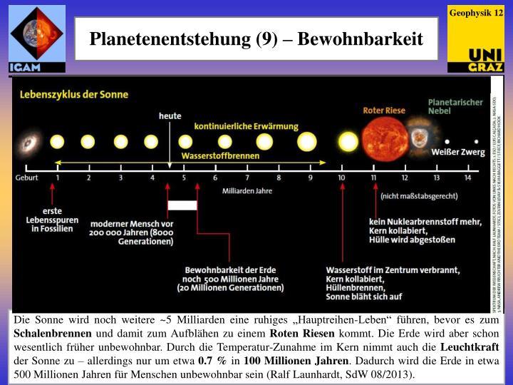 Geophysik 12