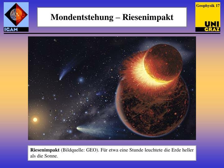 Geophysik 17